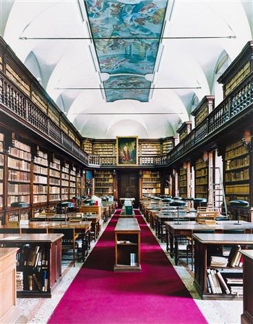 biblioteca di belle arti milano iv by candida höfer
