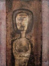 sans titre (portrait) by raúl milian