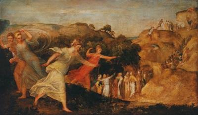 der triumph der fama by lambert sustris