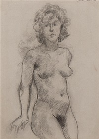 nude (+ 5 others; 6 studies) by johan fabricius