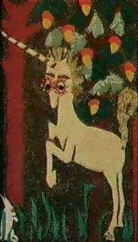<<wilfredo lam vu par sa femme>> (1979) by lou laurin-lam