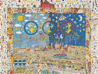 centennial olympic games by james rizzi