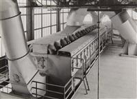 entstaubungsanlage, zeche ernst tengelmann, essen (dedusting system, colliery ernst tengelmann, essen) by albert renger-patzsch
