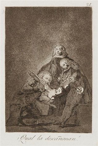 qual la descanonan pl21 from caprices by francisco de goya