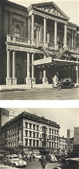 selected images of the middle west side (civic repertory theatre and grand opera house): two works by berenice abbott