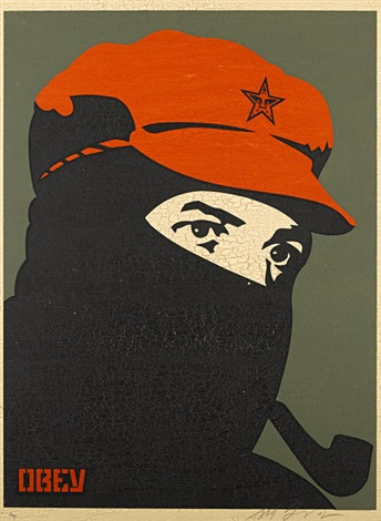 comandante 1 3 others 4 works by shepard fairey