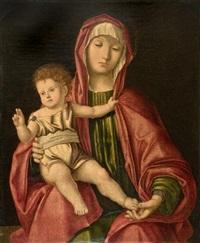 madonna con bambino by vincenzo catena