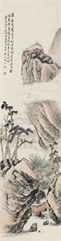 别后重逢 (landscape) by wen qiqiu