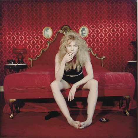 traci lords smoking a cigarette in the quotvalentino roomquot of the alexandria hotel los angeles by bettina rheims