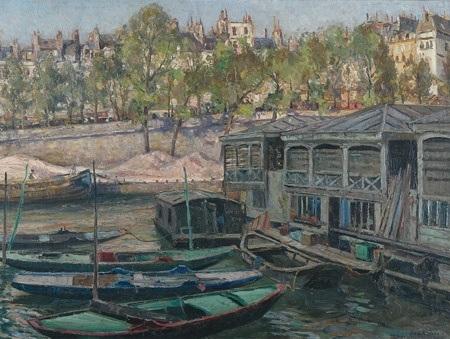 on the seine by john william sir ashton