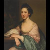 portrait of mrs. elliott by john russell