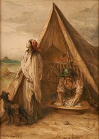 le campement by jean françois portaëls