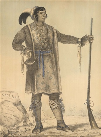osceola of florida by george catlin