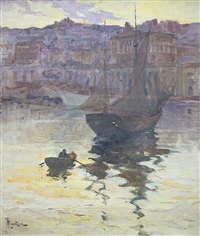 port d'alger by alexandre rigotard