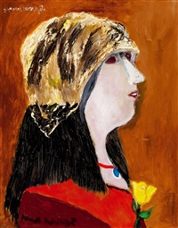 yellow rose by margit anna