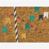 mastro e bandeiras by alfredo volpi
