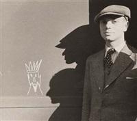 portrait of lax auerbach, london by ellen auerbach