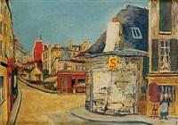 l'hôtel de la tourelle, rue du mont-cenis, paris by elisée maclet