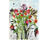anemones by jim dine