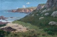 paisaje costero by carlos maría de santiago