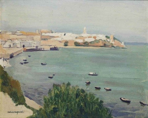 les barques tanger by albert marquet
