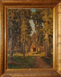 eglise sainte elisabeth du monastère de la vigne à bruges by albert sohie
