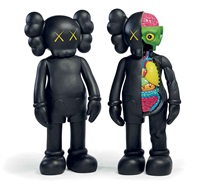 companion (two works) by kaws