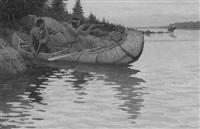 moose hunting by robert wesley amick