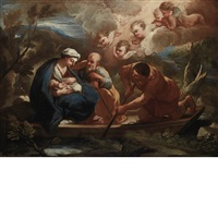 the flight to egypt by carlo maratta