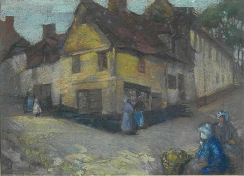 a breton village by david alison