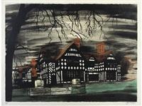 wightwick manor by john piper