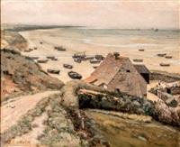 la plage d'equihen by jean-charles cazin