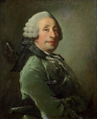 portrait dhomme portant un habit vert by louis richard françois dupont