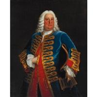 portrait of a gentleman by john theodore heins sr.