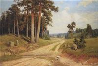 landscape by vladimir fedorov