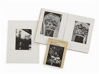 photograph with 2 picture books by albert renger-patzsch