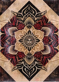 lotus by shepard fairey