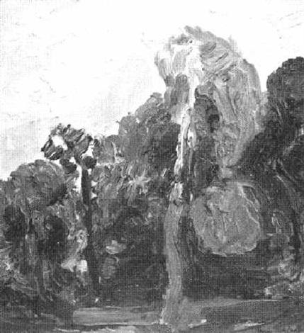 landscap med träg by thage nordholm