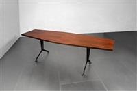 grande tavolo da riunioni della serie arco by studio architetti b.b.p.r. (co.)