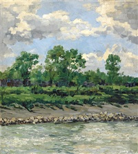 summer clouds by walter ufer