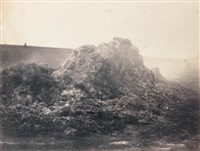 tas de fumier, barbizon by eugène cuvelier