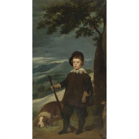 portrait of prince balthazar carlos in hunting costume by diego rodríguez de silva y velásquez