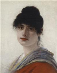 portrait einer venezianerin by george von hoesslin