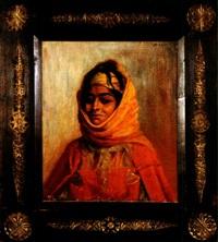 femme arabe by antoine druet
