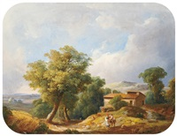 italian scene by karoly marko the younger