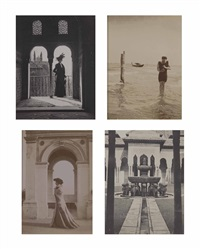 divers portraits et vues de voyages (26 works) by adolph de meyer