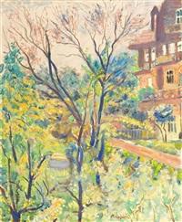 spring trees by czeslaw rzepinski