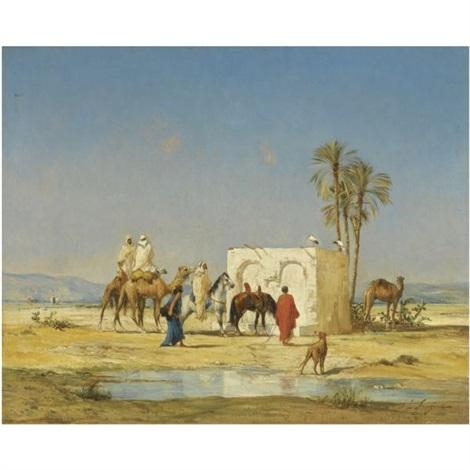 a labreuvoir by victor pierre huguet