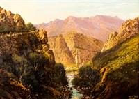 mountainscape by tinus de jongh