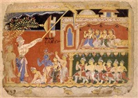 balarama destroys a palace by indian school (16)